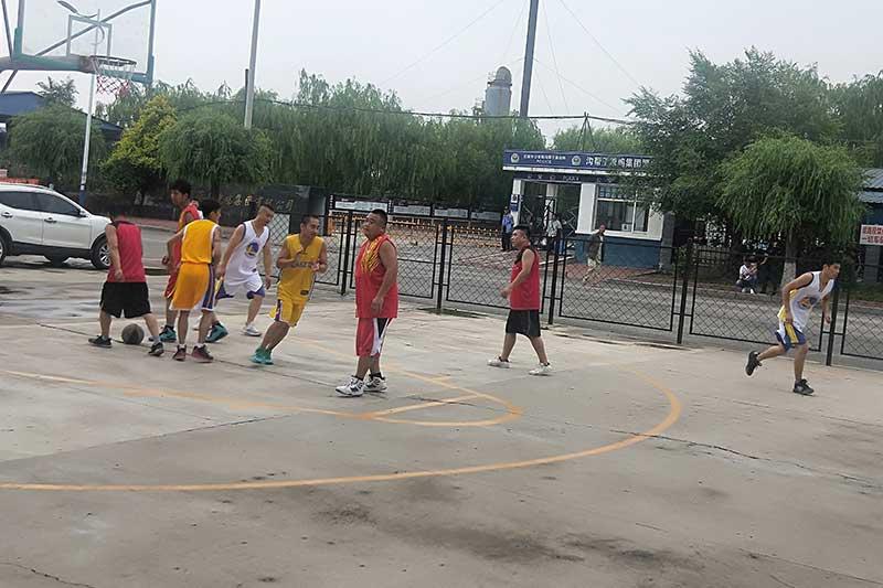 篮球赛职工