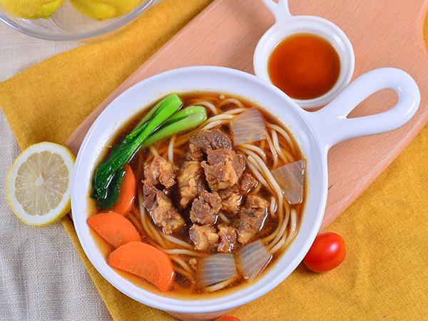 红烧牛肉面汤